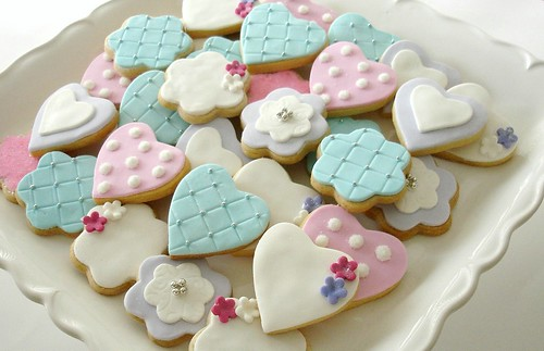 Mini Bridal cookies