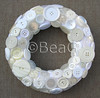 Button Wreath (Knopenkrans) (Made by BeaG) Tags: christmas white circle design holidays handmade buttons unique creative wreath homemade christmasdecorations round wit holidaydecorations krans whiteonwhite homedecor cirkel walldecor rond knopen creatief zelfgemaakt whitebuttons beag vintagebuttons knoopjes indiedesigner creativedesign handgemaakt buttonwreath indieartist homedecorations designedandmadebybeag ontworpenengemaaktdoorbeag craftingwithbuttons knutselenmetknopen vintageknopen knopenkrans designerwreath designerwreaths