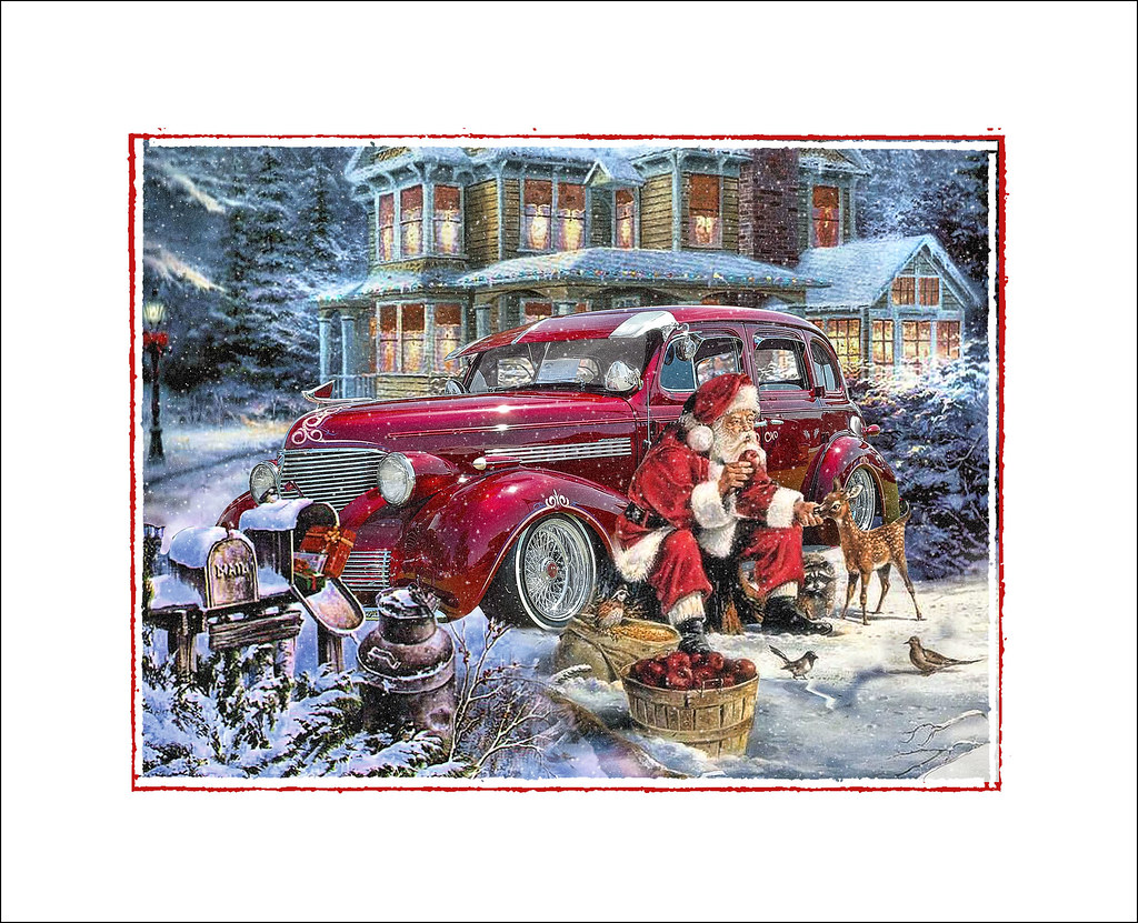 Show Us Your Hot Rod Related Christmas Cards The H A M B