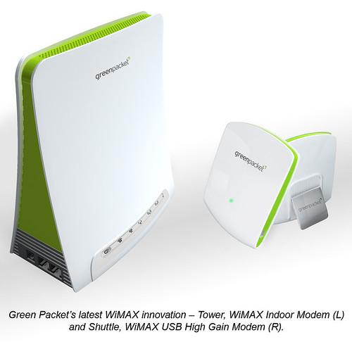 GreenPackat WiMAX Modem