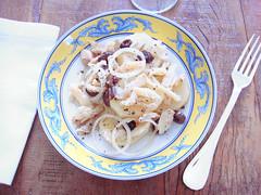 salada de bacalhau e batatas