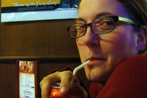 Amelia at Matt's Bar