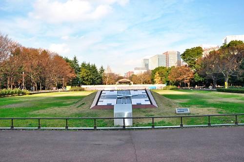 Hibiya park clock