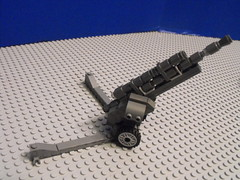 105mm Howitzer (PizzaMovies Productions (PMP)) Tags: army lego contest wars clone entry builder brickarms babc pizzamovies