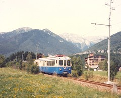 FART0009a Zoom sulla elettromotrice ABFe 6/6 31 a Malesco, Italia (Johannes J. Smit) Tags: schweiz switzerland suisse trains fart svizzera railways ferrovieeautolineeregionaliticinese