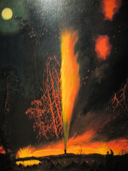 Oil well on Fire painting at Smithsonian American Art Museum (mbell1975) Tags: portrait usa art museum painting smithsonian us dc washington gallery museu portait muse musee m national american museo museums muzeum mze museumuseum