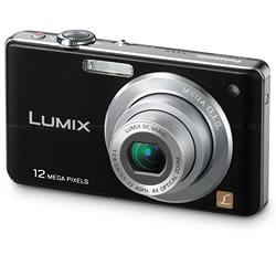 Câmera Digital Panasonic DMC-FS12 12.1 MegaPixels Preta