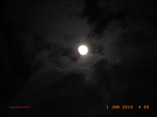 元旦の月蝕