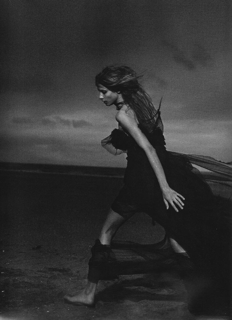 Anna Selezneva by Peter Lindbergh