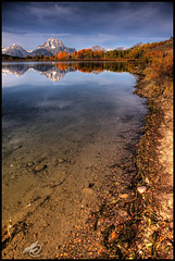 The Shore @ Oxbow (M@ Kadlick) Tags: searchthebest hdr grandtetonnationalpark oxbowbend mtmoran