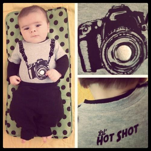 Liam's fashion sense. :)