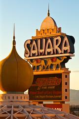 Sun Sets On The Sahara