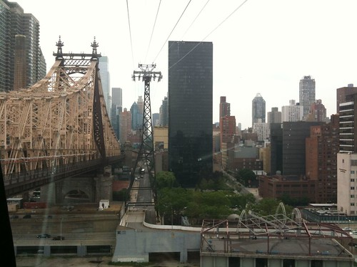 Manhattan from the tram