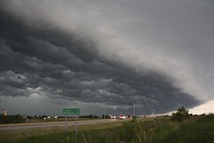 It's Coming (thechasethestorm) Tags: sky storm clouds midwest nebraska thunderstorm severe nwn shelfcloud extremesky therebeastormabrewin