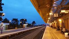 Railway Vanishing Point (Jeremy Hayden Photography) Tags: ifttt 500px people railway vanishing point bicester uk evening light dusk line station platform