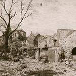 Bataille du Chemin des Dames - Infirmerie de Craonelle (photo VestPocket Kodak Marius Vasse 1891-1987) thumbnail