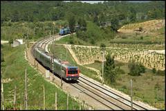 CP 2240 - Comsa 335.001 (Rui Nuns) Tags: portugal train track euro north line ute railcar emu fujifilm cp ume norte comboio linha 4000 automotora inox 335 silicio 2240 s6500 comsa sorefame takargo 335001 marmeleira ruinunes