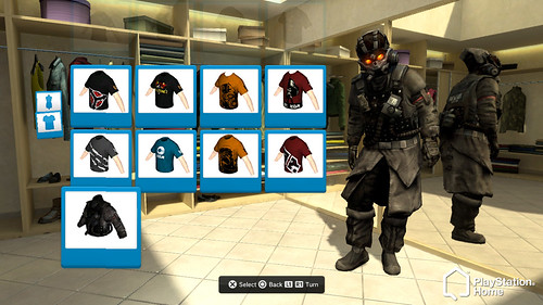 PS Home - Helghast Tacticians outfit
