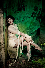 Mummified (mrksaari) Tags: portrait fashion monster espoo finland tomb horror terror undead cave mummy creature bandage sb80dx d300 hotshoe lastolite 35mmf2d strobist ezybox