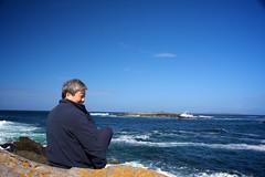 Dad on the Irish West Coast