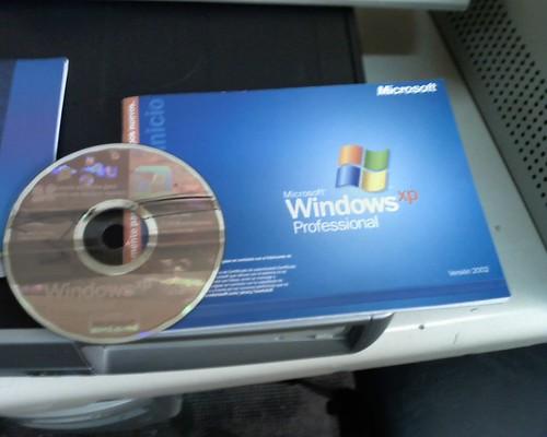 CD installation Windows XP