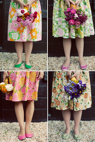 amy osaba vintage dresses and flowers photo