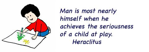 heraclitus, a child at play