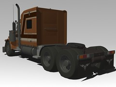 un simple camion - bychobed - 3d