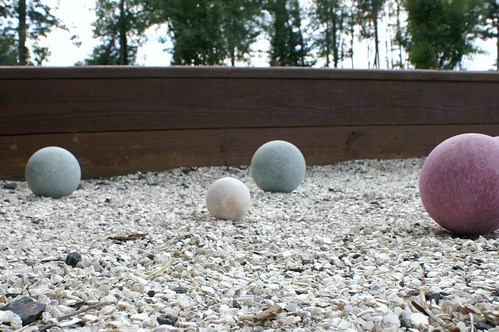 Round 2 of bocce