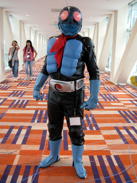 Cosplayer in Hilton (Click to enlarge)