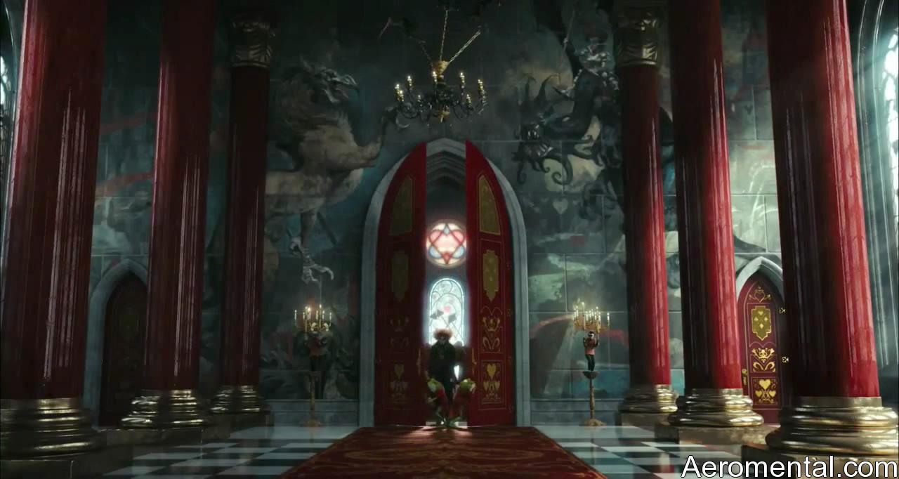Alicia en el País de las Maravillas HD castillo rojo