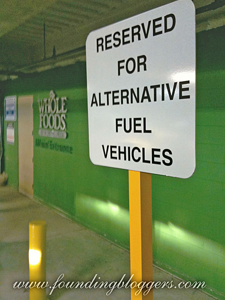 Parking Discrimination At Whole Foods – Guess Which Sign Is Not A Parody