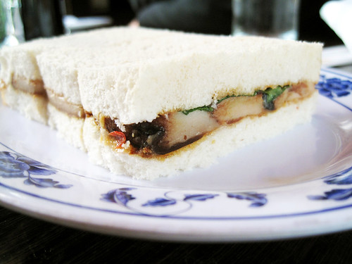 fatty tea sandwiches @ fatty crab