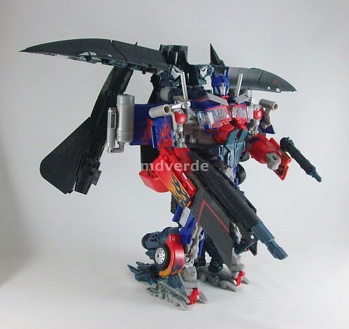 Transformers Power Up Optimus Prime RotF