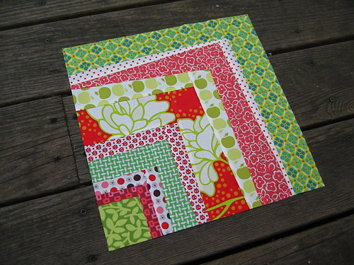 Block #1 for Quilting Barbie