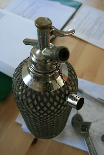 Antique Sparklet Soda Siphon