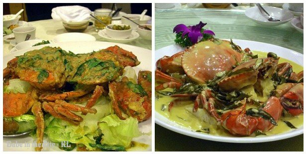 Stir Fried Crabs with Salted Egg Yolk & Butter Crabs