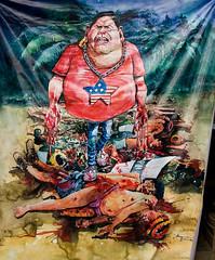 Le président du Pérou, aux mains des Etats Unis, responsable du massacre des indigènes à Bagua, Pérou