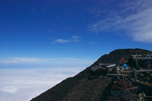 富士山頂からの眺め 4