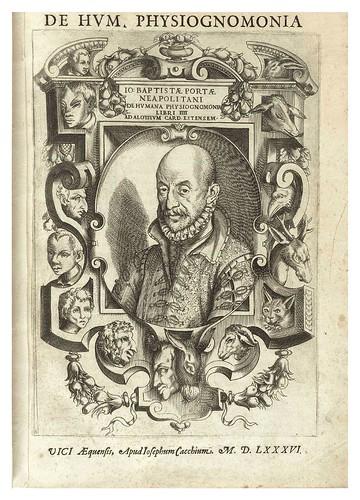 000-De humana physiognomonia- Giambattista della Porta 1586