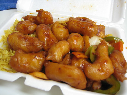 Mandarin Chicken from China Express