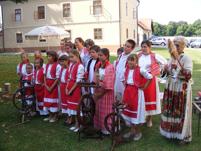 Sveti Lovro - St. Lawrence Day celebrations in Petrinja Croatia - Aug 10th 2009