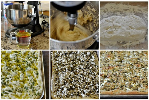 Making Foccacia