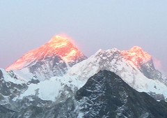 Mt. Everest at Sunset (2)