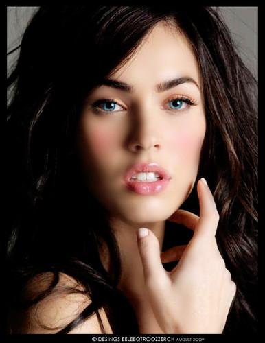 American actress Megan Fox photos