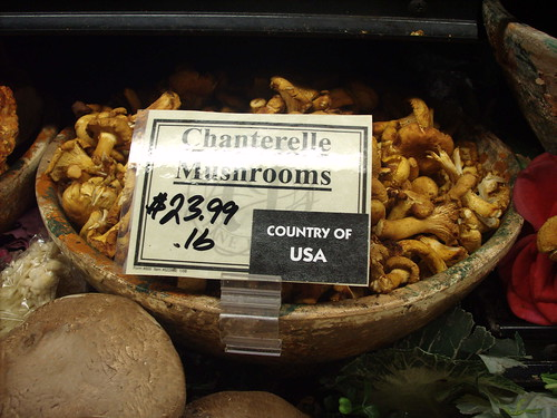 Very Expensive Mushrooms