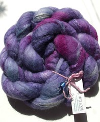 100g BFL Silk 70-30 by Fluff-n-Stuff