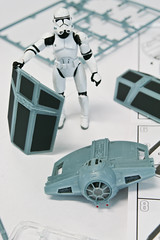 Building a Tie Fighter for Lord Vader #3 (PtitBen) Tags: starwars stormtrooper darthvader darthtater tiefighter monsieurpatate