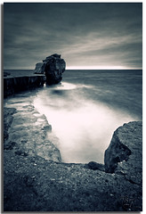 Pulpit Rock (Aaron_Bennett) Tags: uk sea sky motion clouds landscape photography rocks cliffs portlandbill pulpitrock sigma1020mm dorest nd110 aaronbennett nikond300