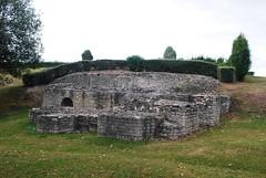Romeinse site te Beauvoir (wandelwereld) Tags: beauvoir gr124